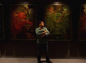 Художник Борис Дубров: от Рембрандта до кабреализма, или Как армия и Каббала влияют на художника (ВИДЕО)