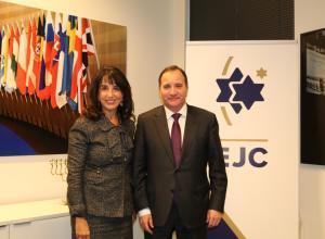 Премьер-министр Швеции: борьба  с антисемитизмом - наша приоритетная задача