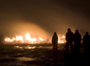В Швеции сгорел приют для беженцев
