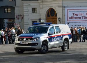 В Вене схватили голого грабителя