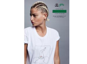 Тель-Авив: презентация первой коллекции футболок  художника-иллюстратора Юваля Робичека
