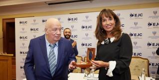 Европейский еврейский конгресс вручил президенту ФЕНКА награду «Иерусалимский компас»