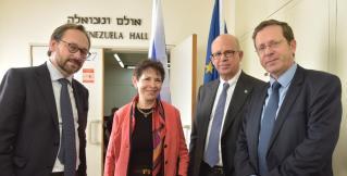 Посол ЕС в Израиле: «Лозунг «Никогда больше!» обязывает действовать, чтобы евреи не страдали в одиночестве»