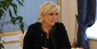 Марин Ле Пен посетила Москву и пообещала бороться против антироссийских санкций