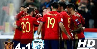 В Хихоне испанцы разгромили сборную Израиля