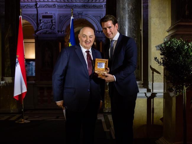 «Каталог мер по борьбе с антисемитизмом»: Вячеслав Моше Кантор представил руководству Австрии рекомендации