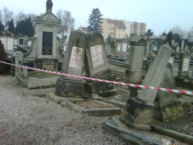 В ЕС зафиксирован рост антисемитизма