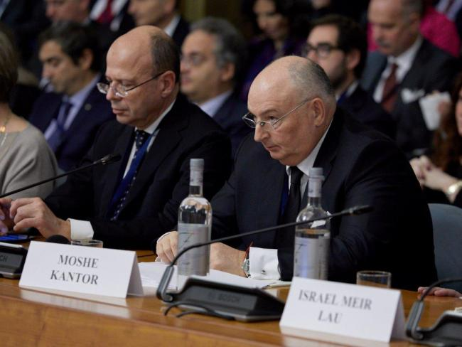 Кантор призывает членов ОБСЕ принять определение антисемитизма Международного альянса памяти Холокоста