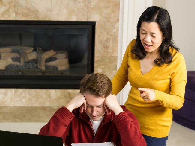 Стресс у жены опасен для здоровья мужа