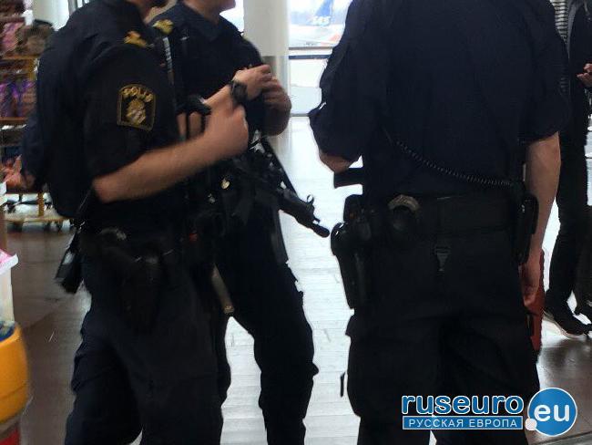 В результате перестрелки в Мальме есть пострадавшие