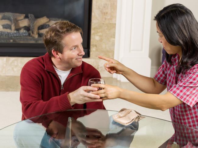 В какой период супруги ссорятся чаще всего