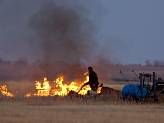 В Португалии разбился пожарный самолет иностранного государства