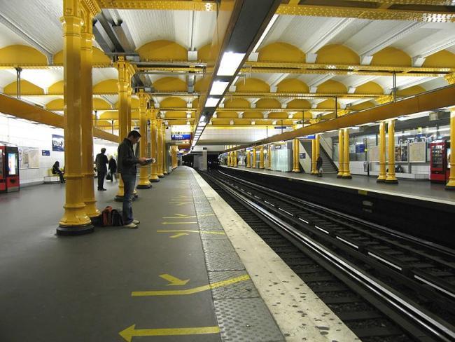 Парижское метро затопило из-за сильных ливней