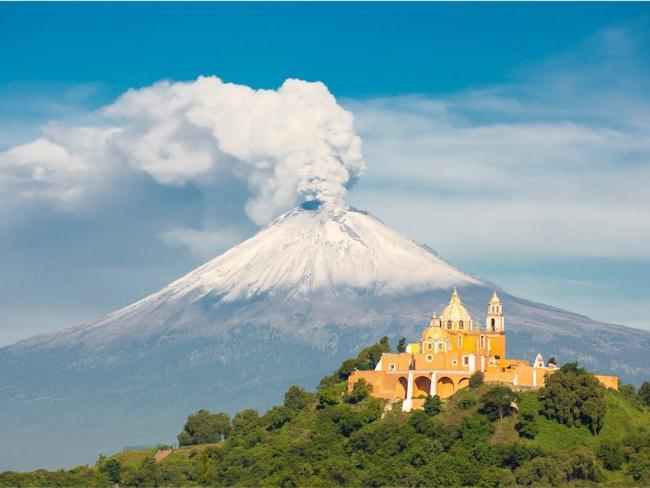 Проснулся один из самых известных вулканов планеты
